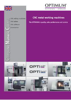 Κατάλογος Optimum CNC
