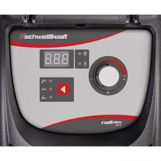 Ηλεκτροσυγκόλληση inverter CRAFT-STICK 201 P SET