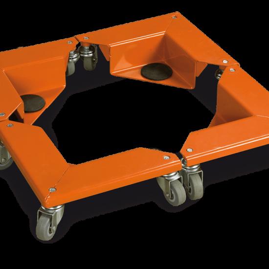 Βάση τροχήλατη αντικειμένων Unicraft ETR4/150