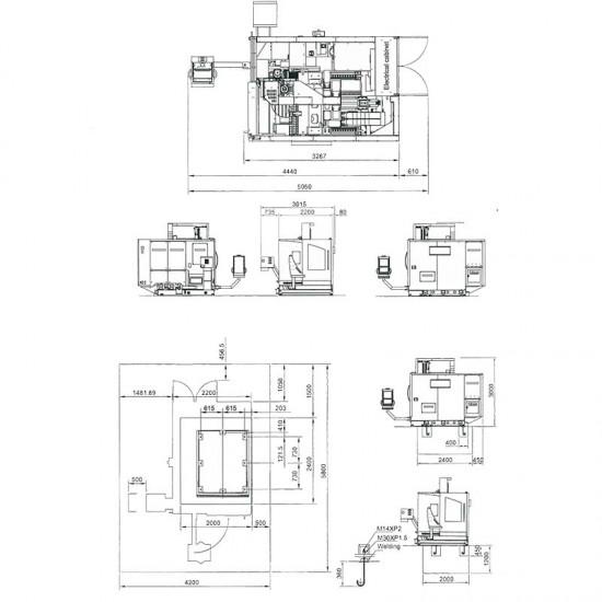 Κέντρο κατεργασίας Optimum FU 5-600 HSC 18