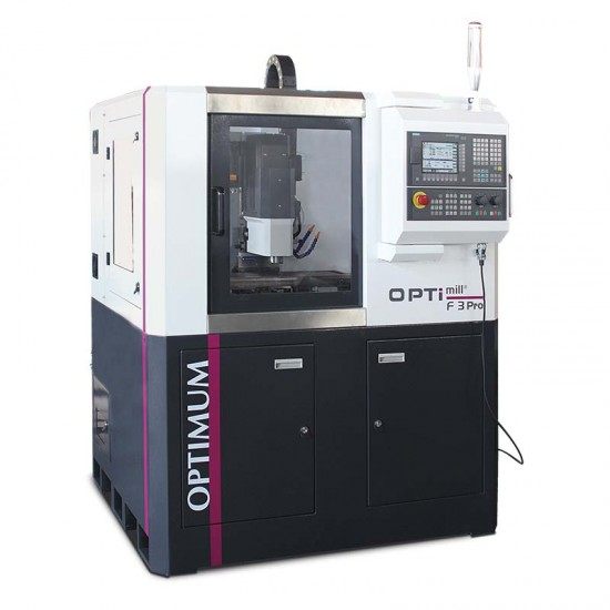 Φρεζοδράπανο CNC Optimum F3 Pro