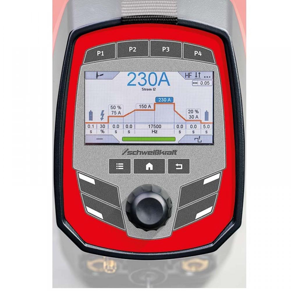 Ηλεκτροσυγκόλληση Tig High Tig 230 AC-DC