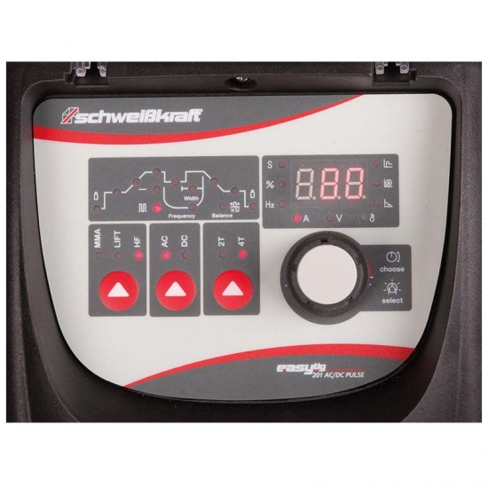 Ηλεκτροσυγκόλληση Tig Schweißkraft Easy- Tig 201 AC/DC Pulse